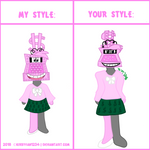Style Meme - Callie by 8Bit-Insomniac