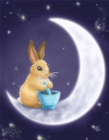 Moon Bunny redo by nienor