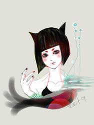 cat girl by hi54