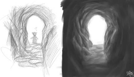 Cave by sumomochan