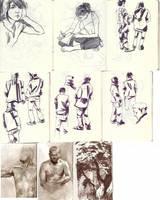 Sketchbook: observation by toerning