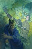 Wolverine Netsuke by toerning