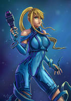 Zero Suit Samus by Ziggafee