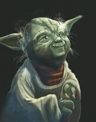 Yoda by Ziggafee