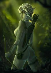 Forest Elf by Ziggafee