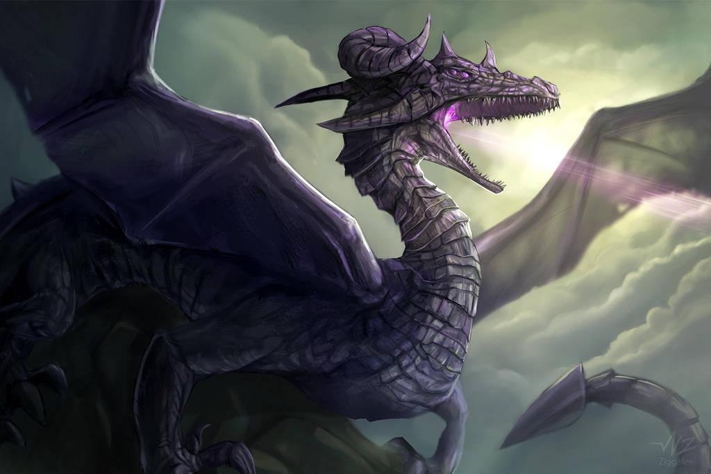 Plasma Dragon by Ziggafee