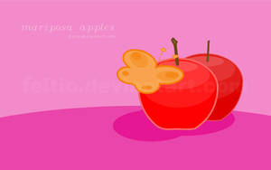 mariposa apples for thetis by feitio