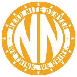 Nerd Nite Denver Stickers by ElKinesis