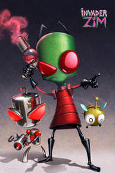 Invader Zim: Destroyers Return by HeyCat