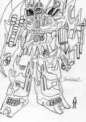 Transformers and the Tutelars_Shockblast by TwilightKarnor
