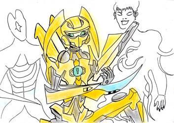 Transformers and the Tutelars - Sari Sumdac by TwilightKarnor