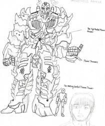Prometheus Armour by TwilightKarnor