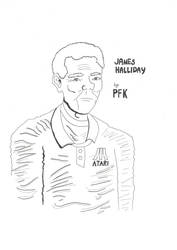 James Halliday - Ready player one by TwilightKarnor