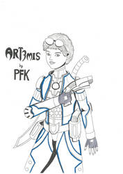 Art3mis - Ready Player One by TwilightKarnor