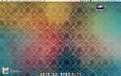 My Desktop of my new MBP by sebs08