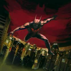 Batman Beyond by EmuSherEt