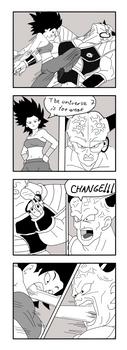 Ginyu in Tournament of Power. Ginyu vs Caulifla by ginyu1992