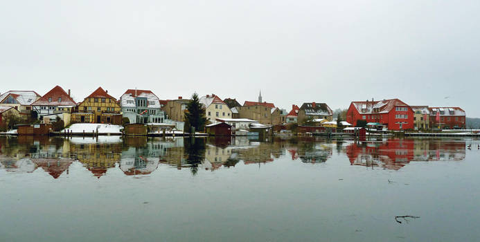 Mirrored Malchow - Insel I by teetotally