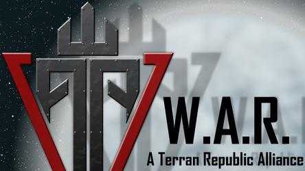 Planetside 2 - W.A.R. Logo Wallpaper by Xoza