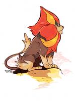 Prideful Pyroar by super-tuler