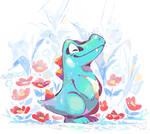 Raindrop Reptile by super-tuler