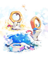 Meltan by super-tuler