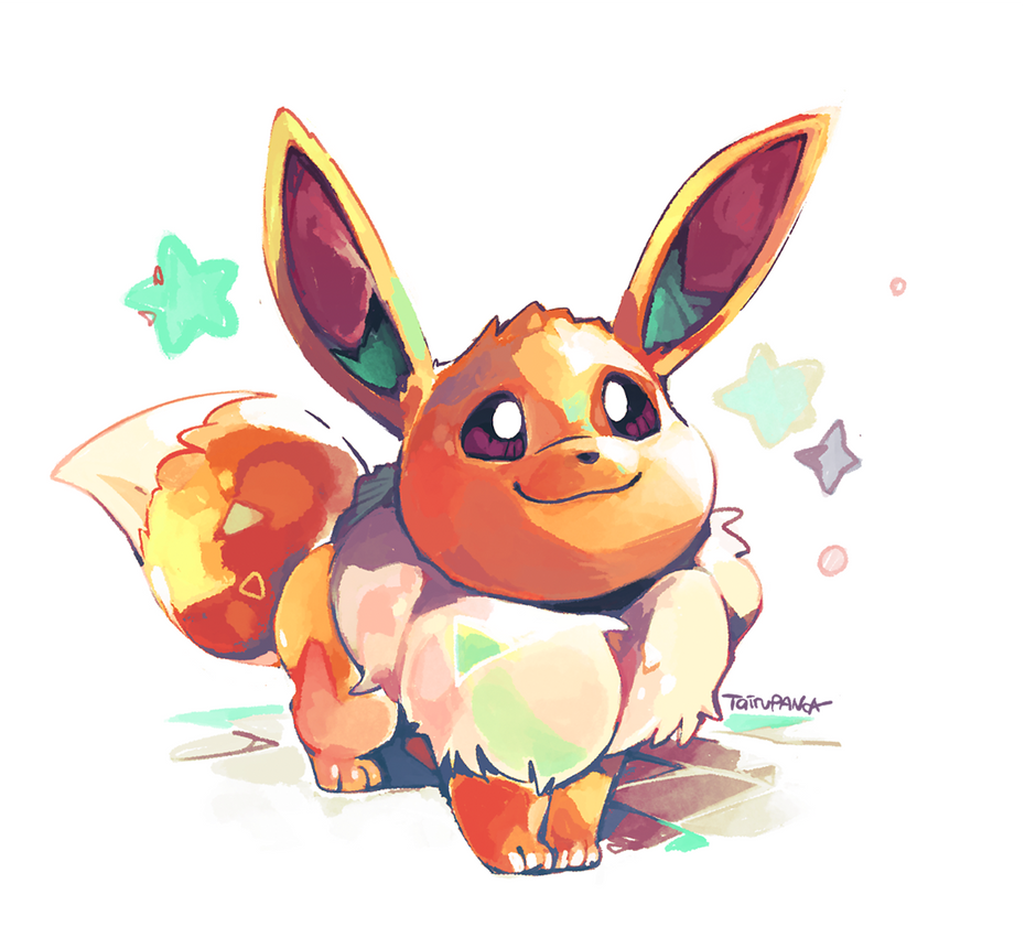 Let's Go, Eevee! by super-tuler