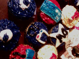 Doctor Who Cupcakes 2 by ChibiAyane