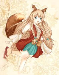 OC - Foxy by chimdae