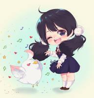 Chibi Tamako by Neonxxj