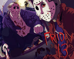 Friday the 13th by kay3o3