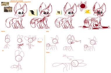 Animal Jam Concept: Fennec Fox by gagashark
