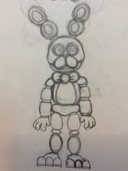 Bonnie the bunny by gagashark