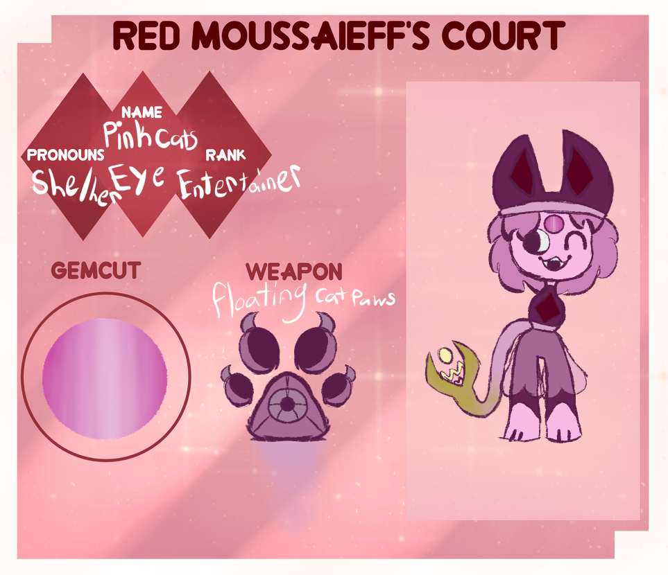 Red Moussaieff Court Pink Cats Eye Ref by gagashark