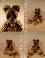 Skeleton Baby Bears 2 by dreggs88