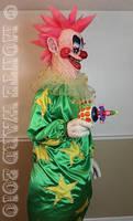 Spike killer klown statue 2 by dreggs88