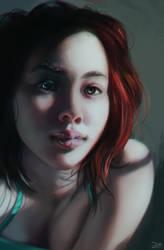 Portrait study by Pixennon