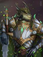#XIX Commission: Dragonborn by Pixennon