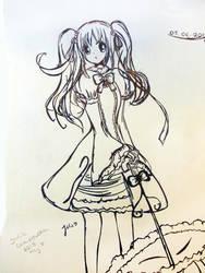 Miku :3 by Usagi1810