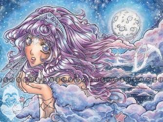 Ameluna - Night Breeze by Melanoleuca