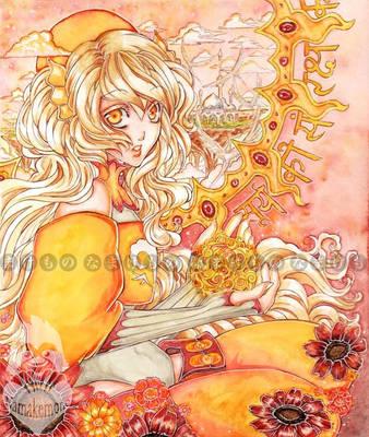 Eryn - Guardian of the Sun by Melanoleuca