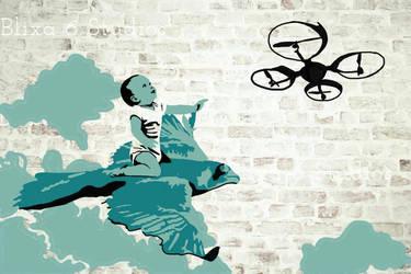 Graff Art Stencil #1 by JourneyElectrica