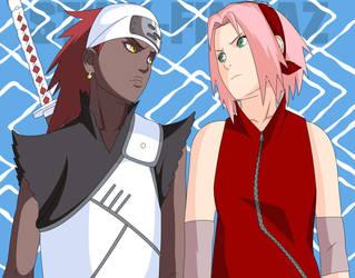 Karui and Sakura 453 by StikyfinkaZ-003