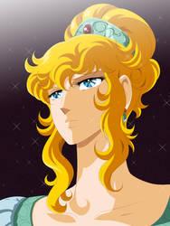 Lady Oscar| Verusayu no Bara by StikyfinkaZ-003