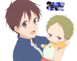 Render|Gakuen Babysitters #5 by JoniFullbuster