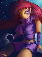 Starfire by Auroriia