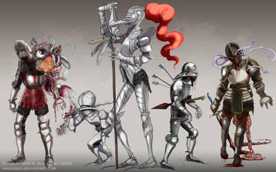 Knights - Dark Souls style by MaKuZoKu