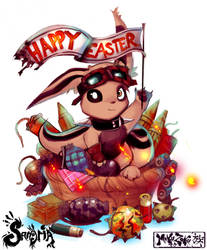 Happy Easter 2018 by MaKuZoKu