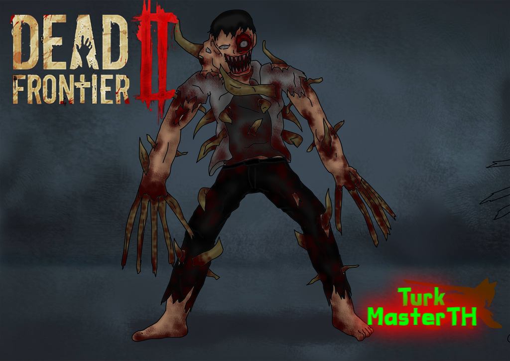 Turk style DF2 Zombie concept art by TurkMasterTH