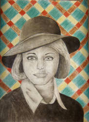 Vintage Woman by jenniferhl72